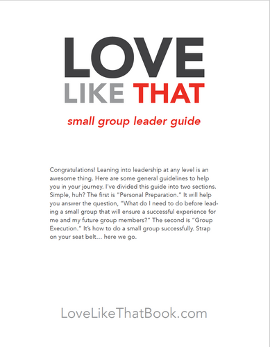 Small Group Leader's Guide