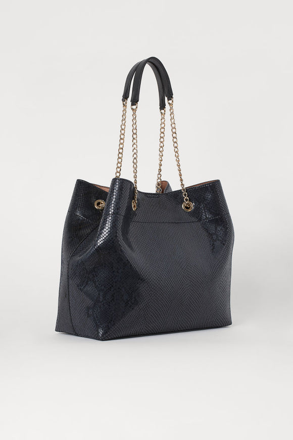 Metal Chain Shopper Bag