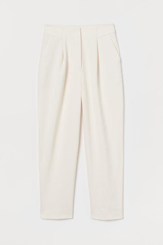 Cotton Relaxed Fit Pants