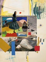 Load image into Gallery viewer, I'm walking here (w. Etel Adnan), 2020, Grace Wood