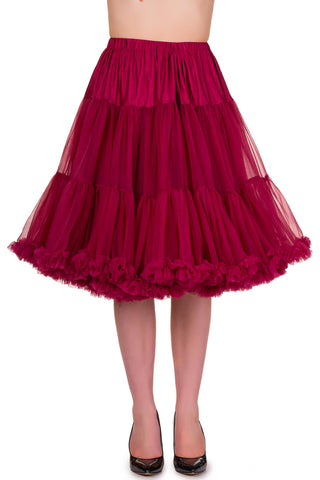 Banned Apparel Starlite Bordeaux Petticoat
