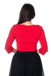 Banned Retro Oonagh Top Red