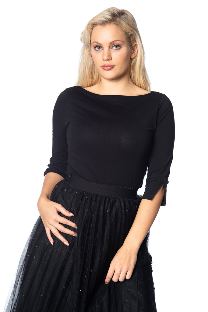 Banned Retro Oonagh Top Black