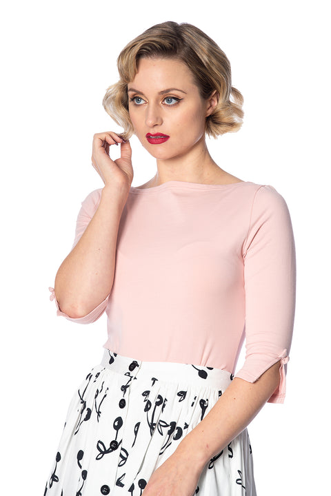 Banned Retro Oonagh Top Pink