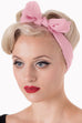 Banned Apparel Chiffon Scarf - Blush