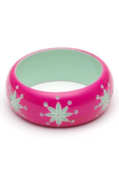 Splendette CLASSIC Bangle Wide - Flamingo