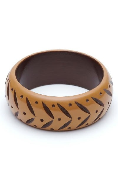 Splendette CLASSIC Bangle Wide - Almond