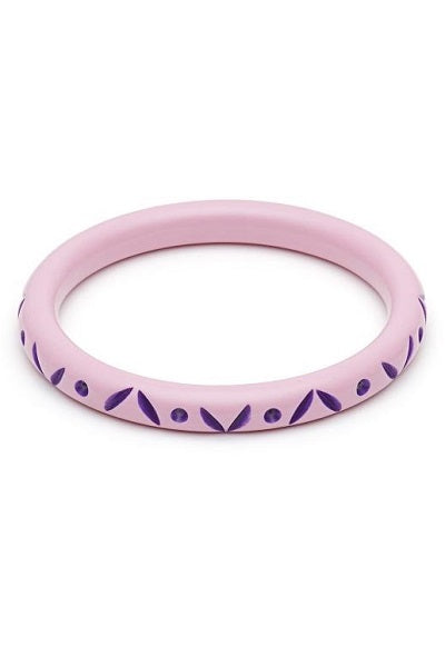 Splendette CLASSIC Bangle Narrow - Clematis