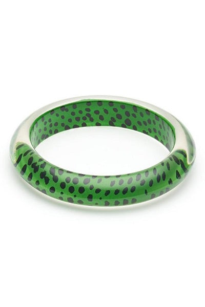 Splendette CLASSIC Bangle Leopard - Green
