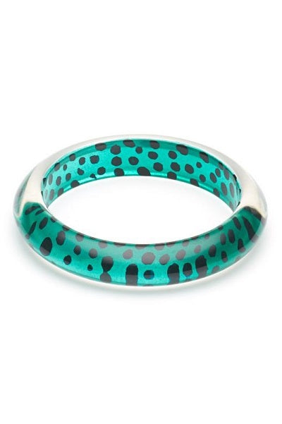 Splendette CLASSIC Bangle Leopard - Jade