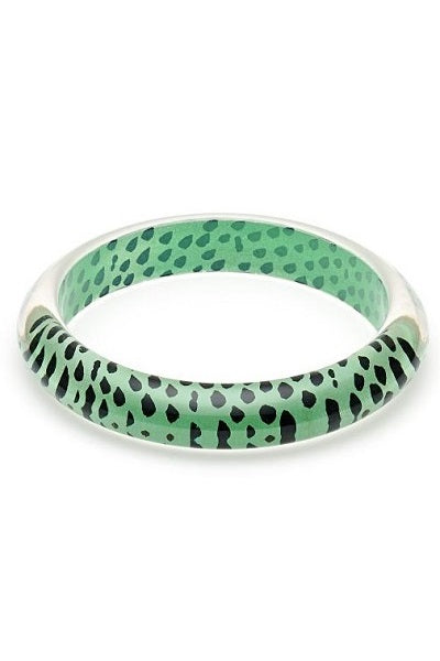 Splendette CLASSIC Bangle Leopard - Mint
