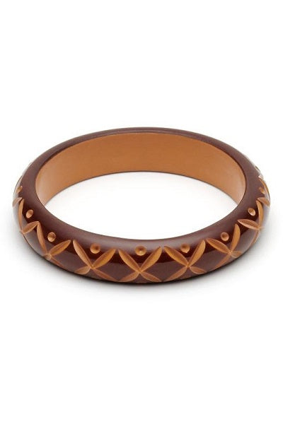 Splendette DUCHESS Bangle Midi - Walnut