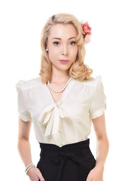 Collectif Tura Ivory Blouse