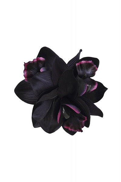 Collectif Hair Clip Aaliyah Orchid Black