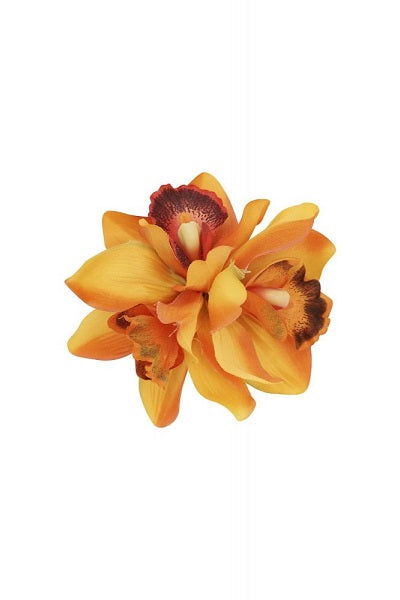 Collectif Hair Clip Aaliyah Orchid Orange