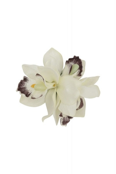 Collectif Hair Clip Aaliyah Orchid White