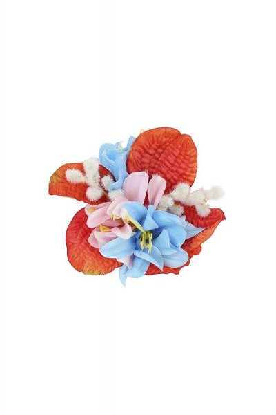 Collectif Hair Clip Ano Tropical Red