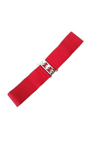 Banned Retro Red Belt