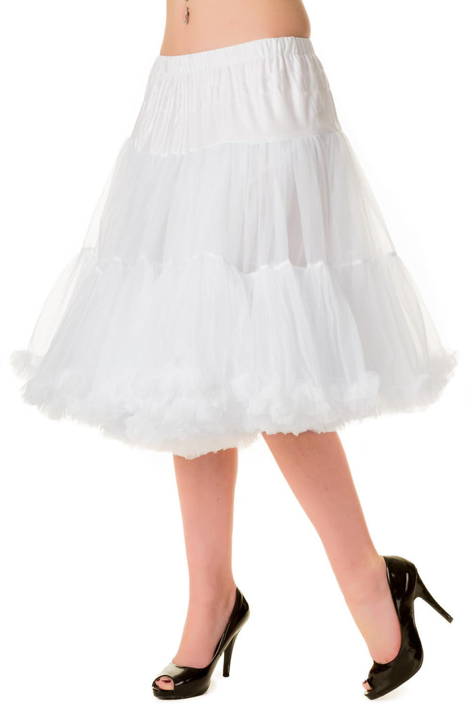 Banned Apparel Starlite White Petticoat