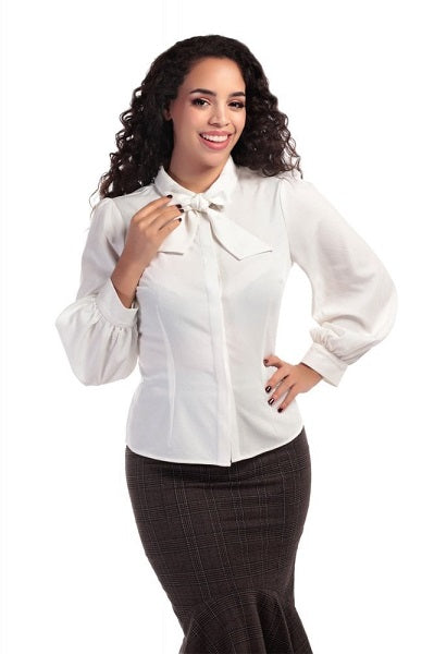Collectif Beccy Blouse Ivory