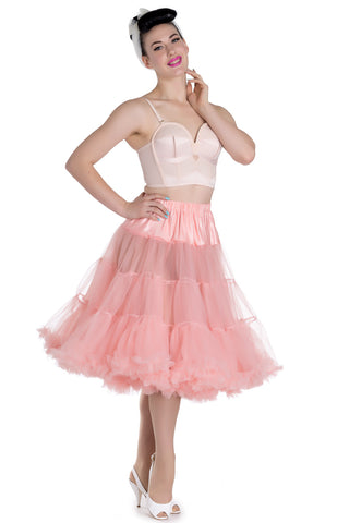 Hell Bunny Coral Petticoat