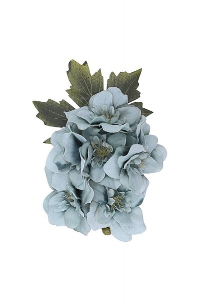 Collectif Hair Clip Dina Blue