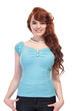 Collectif Dolores Blue Top