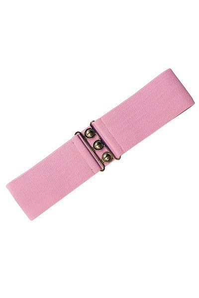 Hell Bunny Retro Dolly Pink Belt