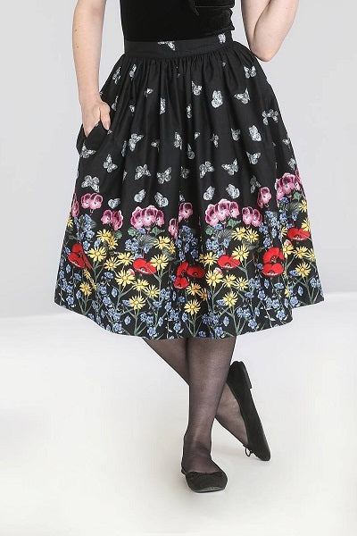 Hell Bunny Meadow Skirt