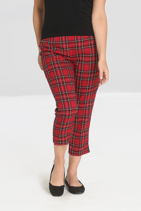Hell Bunny Irvine Cigarette Trousers