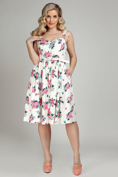 Collectif Jemima Floral Dress