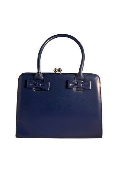 Collectif Handbag Jessica 40s Navy