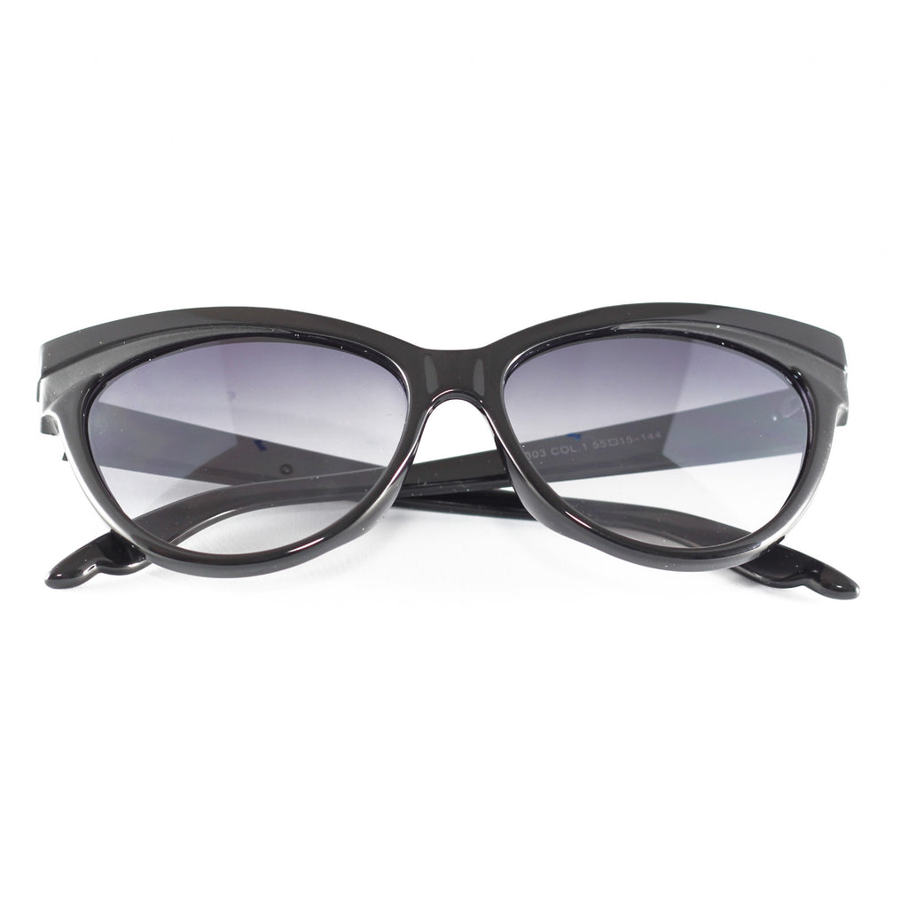 Collectif Black Judy Sunglasses