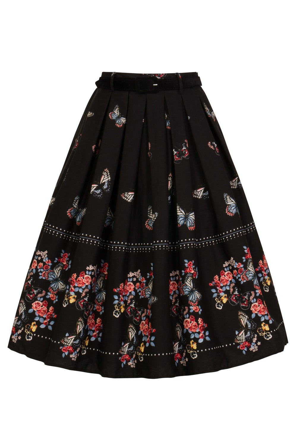 Hell Bunny Laeticia 50s Skirt