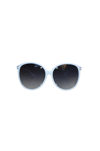 Collectif Lana White Sunglasses