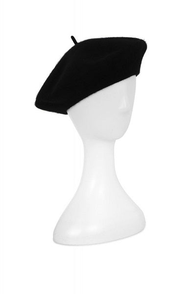 Collectif Lauren Beret Black