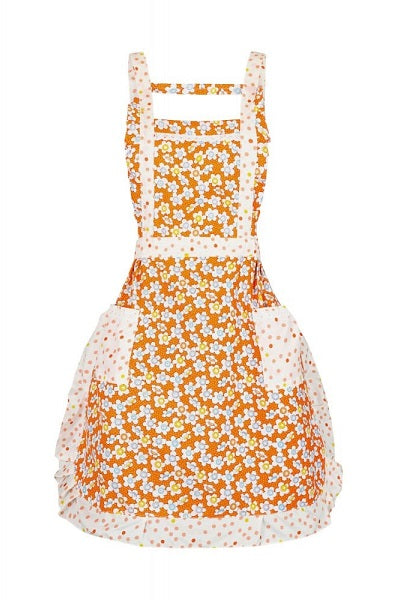 Collectif Louise Flower Apron