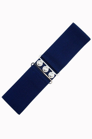 Banned Retro Navy Belt