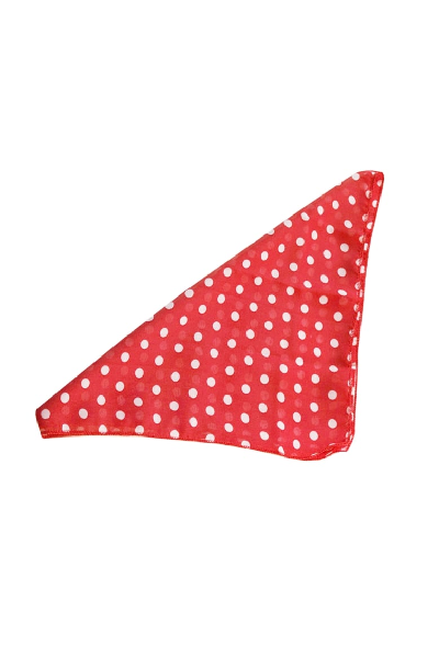 Collectif Bandana Polka Dot Red/White