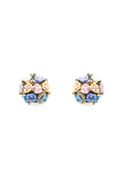 Collectif Stud Earrings Posy