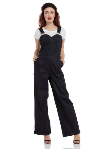 Voodoo Vixen Rosie the Riveter Dungaree