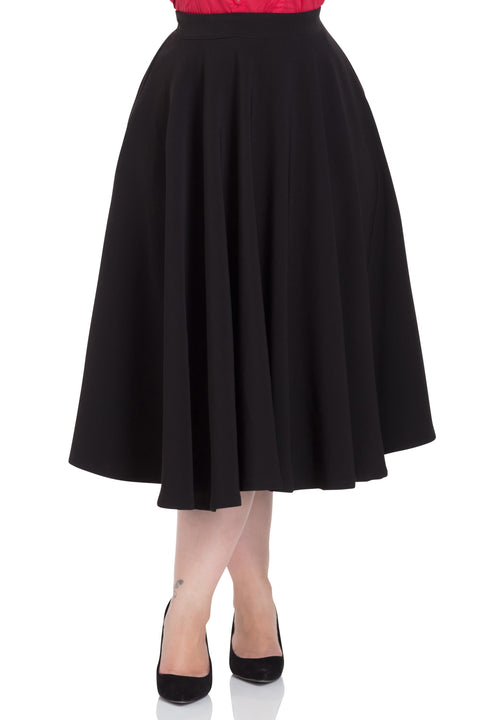Voodoo Vixen Sandy Skirt Black