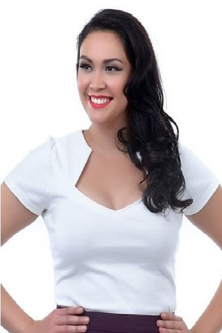 Steady Clothing Sophia Top in Ivory