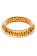 Splendette CLASSIC Bangle Leopard - Yellow