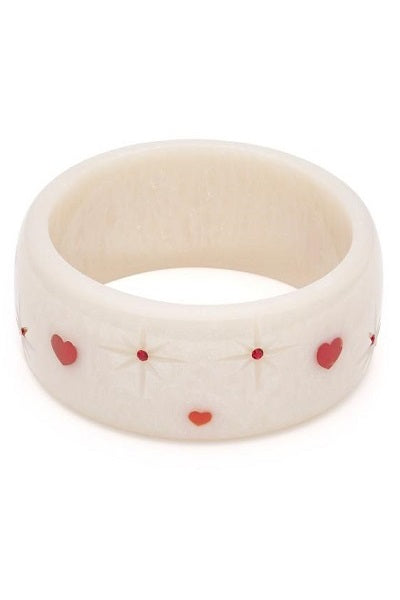 Splendette Valentine's CLASSIC Bangle Wide - Secret Admirer