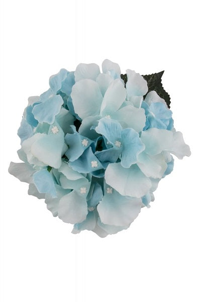 Collectif Hair Clip Hydrangea Blue