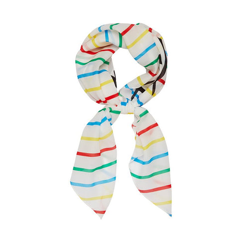 Erstwilder Head Scarf - Hello Kitty Collection Hello Kitty Rainbow