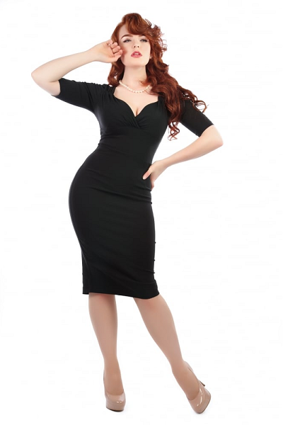 Collectif Trixie Pencil Dress