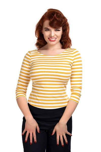Collectif Twinnie Striped Top