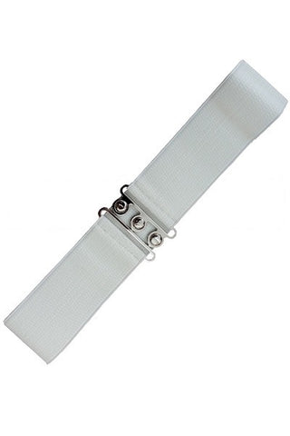 Banned Retro White Belt